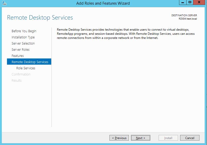 °remote desktop services role